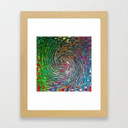 Vortex of Colours Framed Art Print