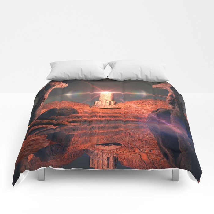 Mystical fantasy world Comforters