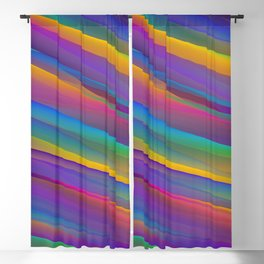 Abstract Blackout Curtain