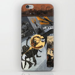 Pages from Comics F iPhone Skin