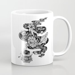 Space Music Coffee Mug