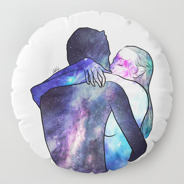 Just you gave me that feeling. Floor Pillow