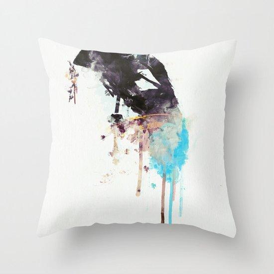 The Lion's Roar Throw Pillow