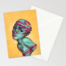 Fraught with draught Stationery Cards