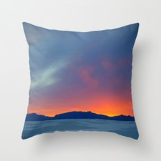 Second Earth Throw Pillow