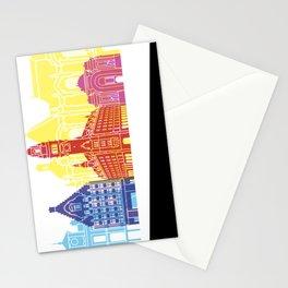 Lille skyline pop Stationery Cards