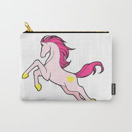 Leaping Pink Carry-All Pouch