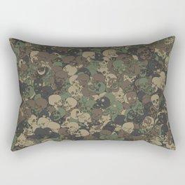 Skull camouflage Rectangular Pillow