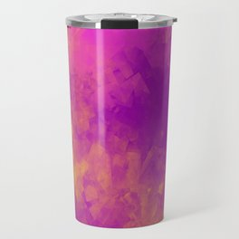 Sponged Painted Colors 5 Travel Mug