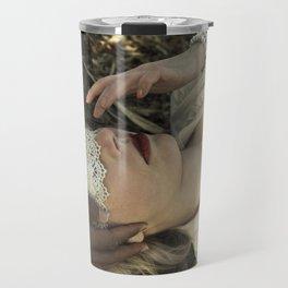 Qu'ils mangent de la brioche I - Marie Antoinette Travel Mug