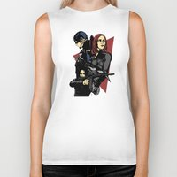 movie poster Biker Tanks featuring Movie Poster by Shop 5