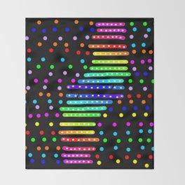 Rainbow 22 Throw Blanket