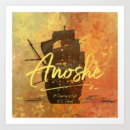 Anoshe.  A Conjuring of Light. Art Print