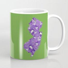New Jersey in Flowers Coffee Mug