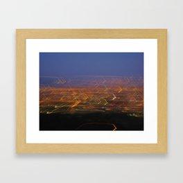 Runyon Lights Framed Art Print