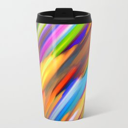 Colorful digital art splashing G391 Travel Mug