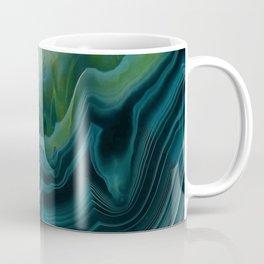 Mysterious sea-green agate Coffee Mug