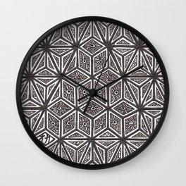 Textile 7  Wall Clock