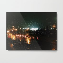City Showers Metal Print