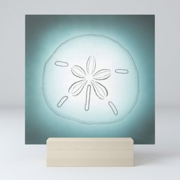 Sand Dollar Blessings - Pointilist Art Mini Art Print