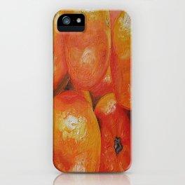 Tangerines iPhone Case