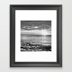 Magical Sea Framed Art Print