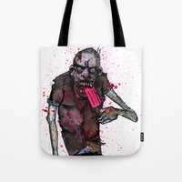 dessert Tote Bags featuring Dessert by Grant Hunter