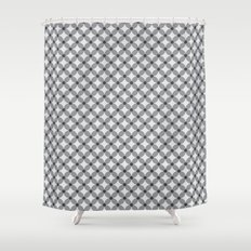 Pattern Tile 2.3 Shower Curtain