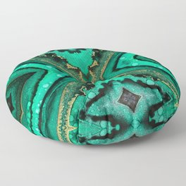 Malachite II Floor Pillow