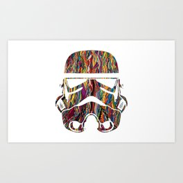 Raised on Biggie and The Dark Side Art Print