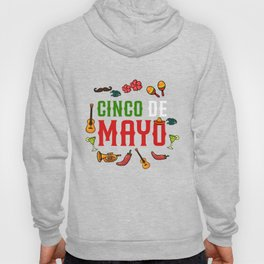 Funny Cinco de Mayo design Fiesta Mexicana Gift Hoody