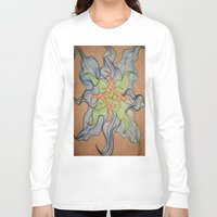 orchid Long Sleeve T-shirts featuring Orchid by Vincent Murphy