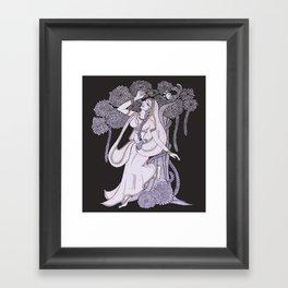 Radharani-Feel of devine love Framed Art Print
