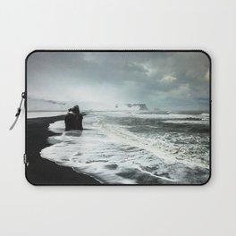 Black Sand beaches in Iceland Laptop Sleeve