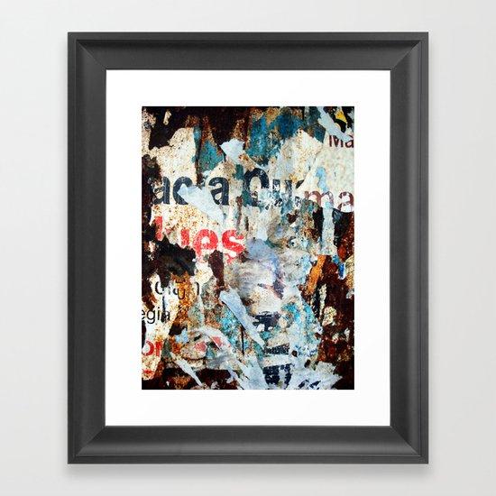 Vestiges II Framed Art Print
