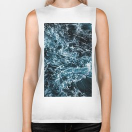 Wrath of the Dark Tempest Ocean Biker Tank