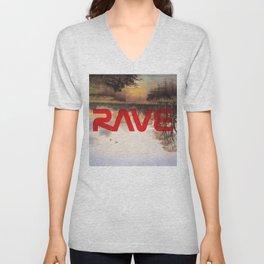 RAVE Unisex V-Neck