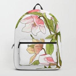 Rose Tinted Hellebore Backpack