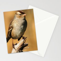 White-crowned Sparrow Stationery Cards