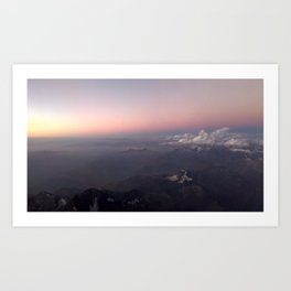Over the Andes Art Print
