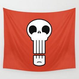 Long Skull Wall Tapestry