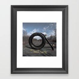 - O - Framed Art Print