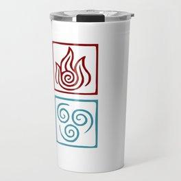 The 4 elements Travel Mug