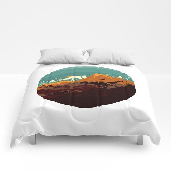 Jurassic Escape Comforters