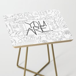 You Are Side Table