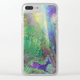 Forest of Food Fetish Clear iPhone Case