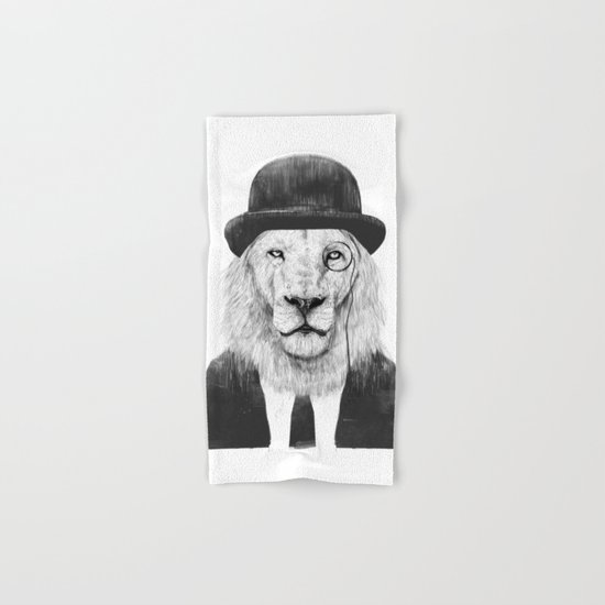 Sir lion Hand & Bath Towel