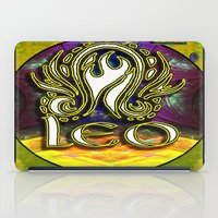 astrology iPad Cases featuring Leo Zodiac Sign Astrology by CAP Artwork & Design