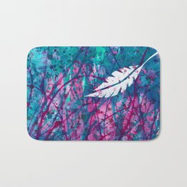 Floating Feather Bath Mat