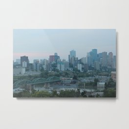 Downtown Edmonton Metal Print